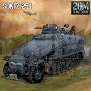 2GM Tactics – SdkFz 251
