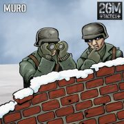 "2GM Tactics – Carta de terreno ""MURO"""