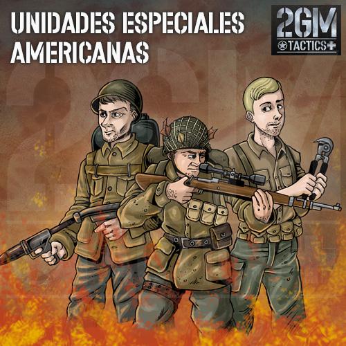 2GM Tactics – Unidades Especiales