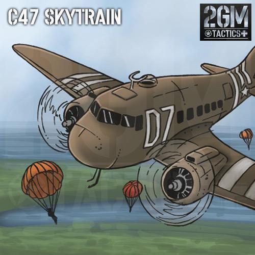 """2GM Tactics – Carta de apoyo """"C-47 SKYTRAIN"""""""