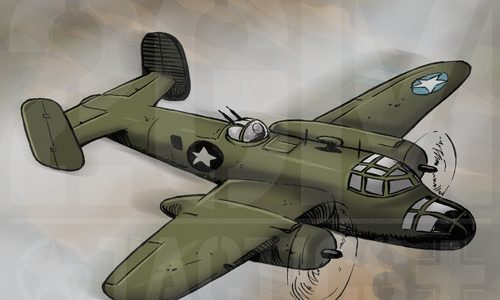 2GM Tactics – B-25 MITCHELL