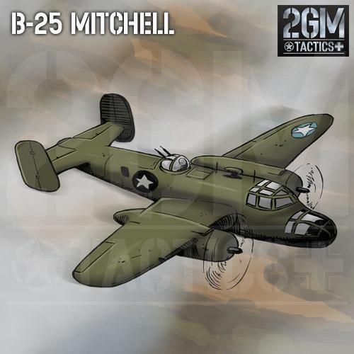 2GM Tactics – B-25 MITCHELL
