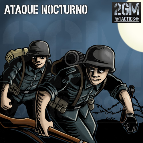 "2GM Tactics – Carta de apoyo ""ATAQUE NOCTURNO"""