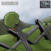 2GM Tactics – Carta de apoyo «BARRERAS»