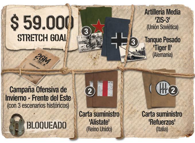 Nuevo juego de mesa 2GM Tactics - ÉXITO en Verkami Objetivo59K-bloqueado-ESP
