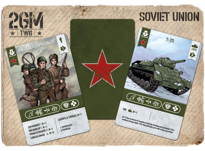 Nuevo juego de mesa 2GM Tactics - ÉXITO en Verkami Union-sovietica-cartas-02