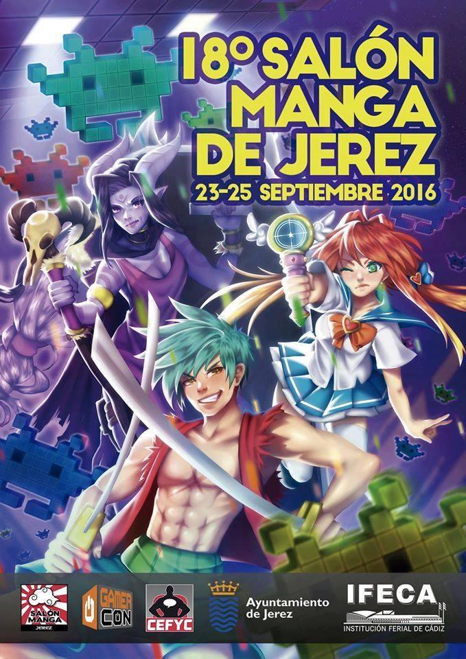 Cartel Salón Manga de Jerez