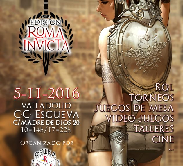 Draco Ideas en evento Terra Ignota: Roma Invicta en Valladolid