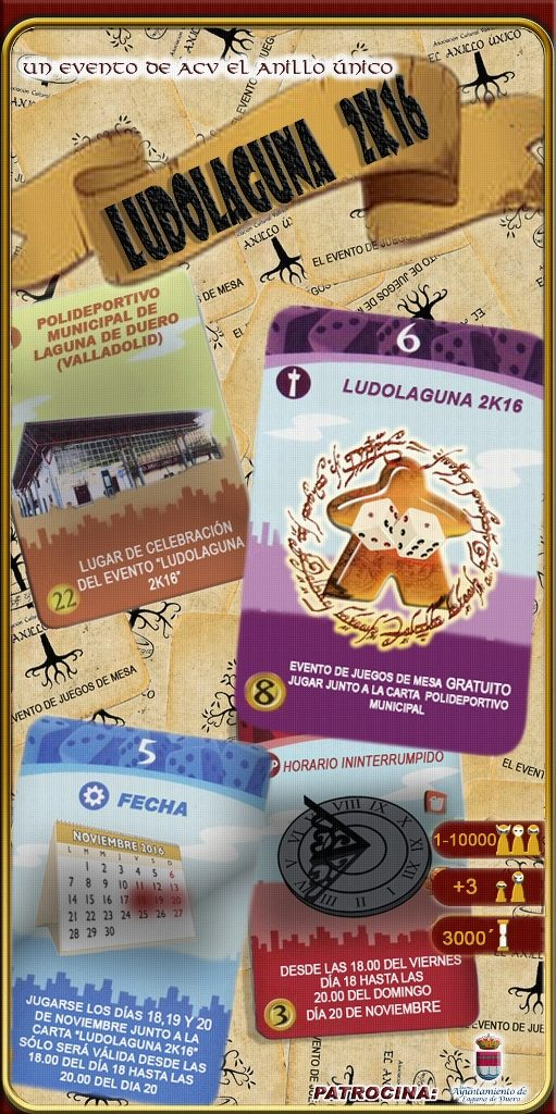 Cartel Ludolaguna 2016