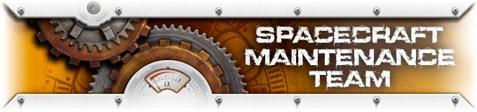 Spacecraft maintenance Team