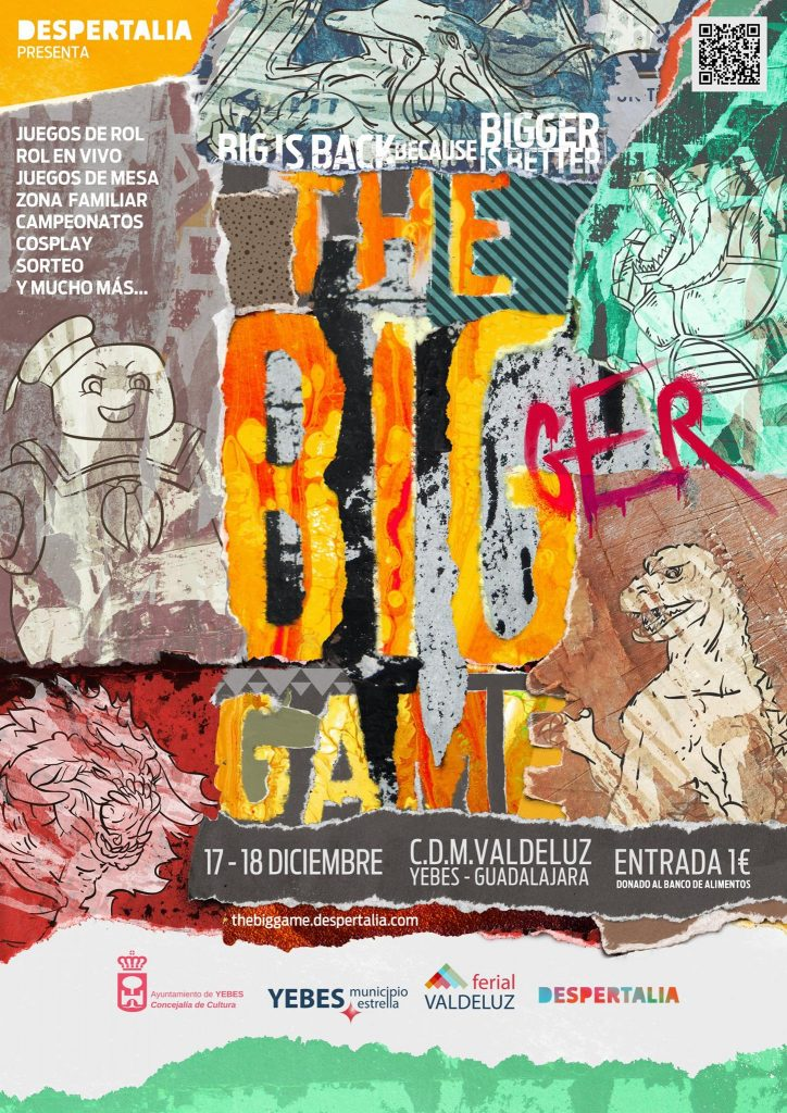 Cartel jornadas Guadalajara The Big Game 2016