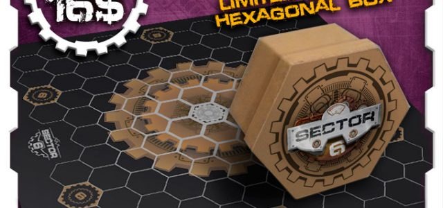 SECTOR 6: objetivo desbloqueado y ADD-ON disponible en Kickstarter