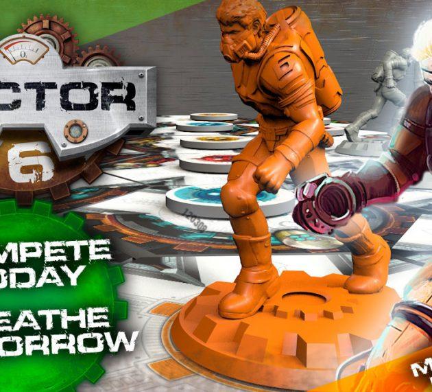 ¡Sector 6 ya disponible en Kickstarter!