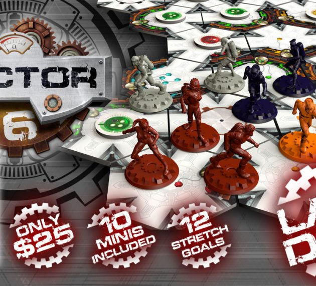 2 días para que termine SECTOR 6 en Kickstarter