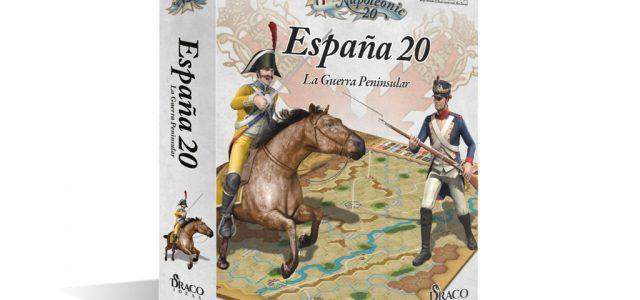"Draco Ideas firma un acuerdo para editar ""España 20"" (""Napoleonic 20"") en castellano"