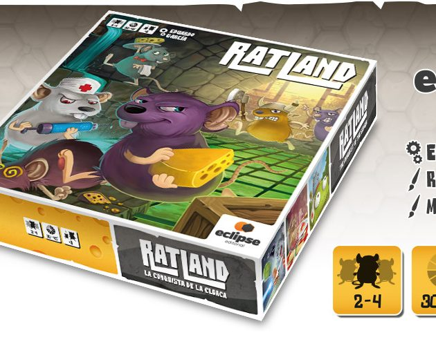 Nuevo juego RatLand junto con Eclipse Editorial