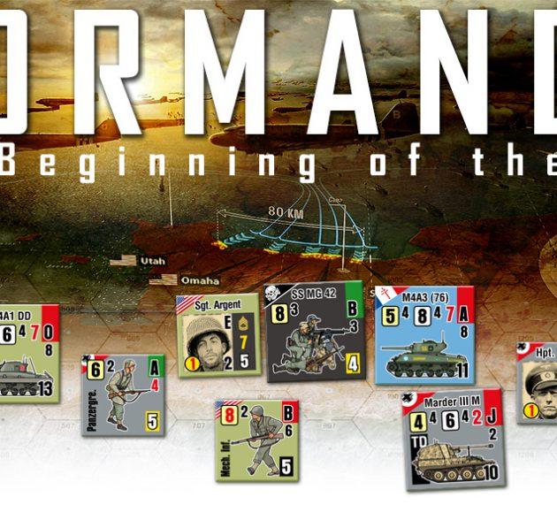 Juego Normandy en Kickstarter