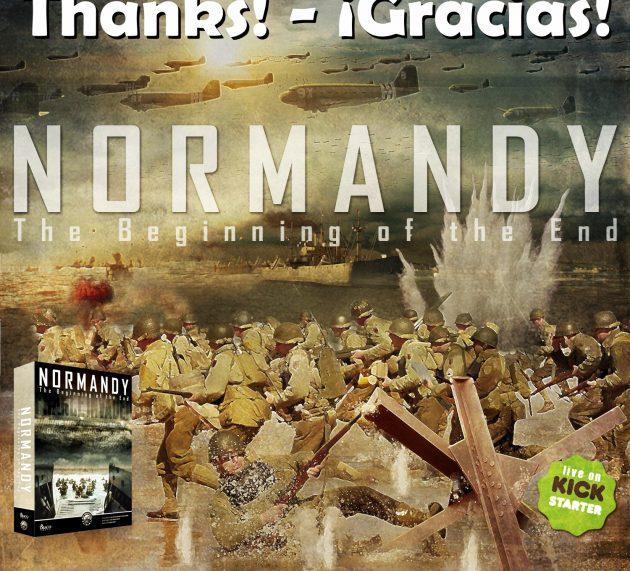 Éxito de Normandy en Kickstarter, ¡Gracias!