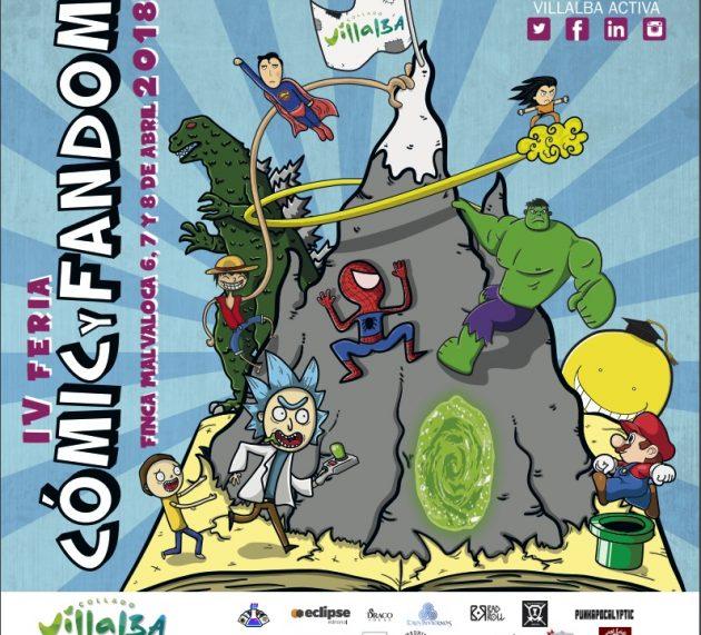 La IV Feria del Cómic y el Fandom de Collado Villalba contará con la presencia de DracoIdeas