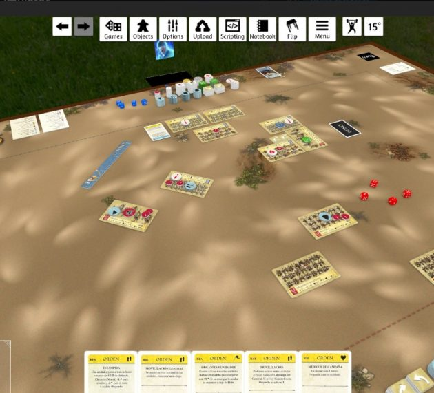 Onus en Tabletop Simulator