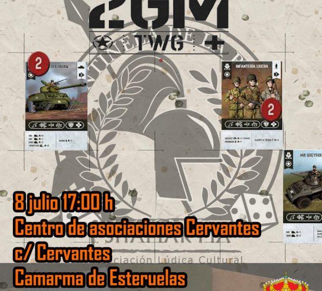 Torneo de 2GM TWG en Camarma de Esteruelas (Madrid)