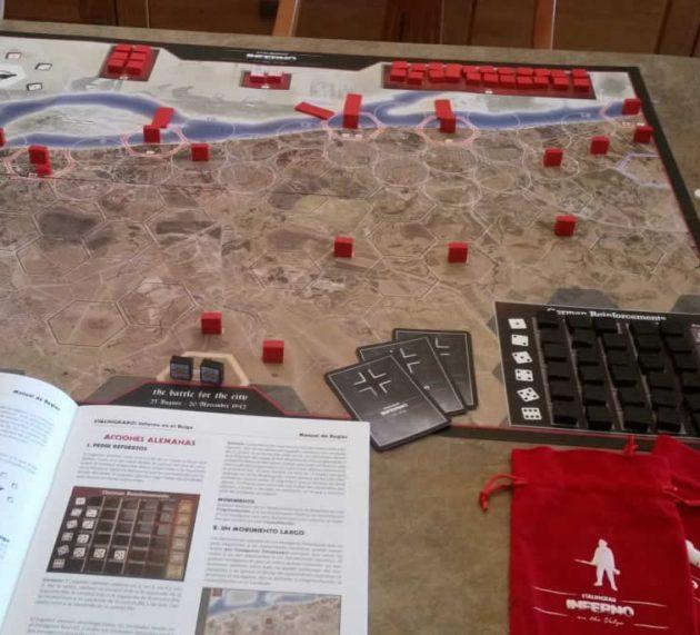 Unboxing de Stalingrad: Inferno on the Volga