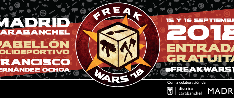 Draco Ideas estará en las Freak Wars