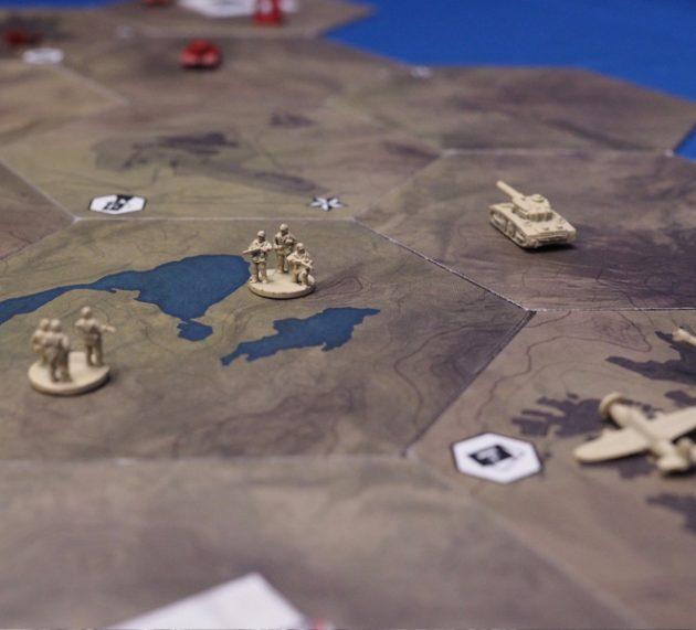 El tablero modular de Guerra Fronteriza