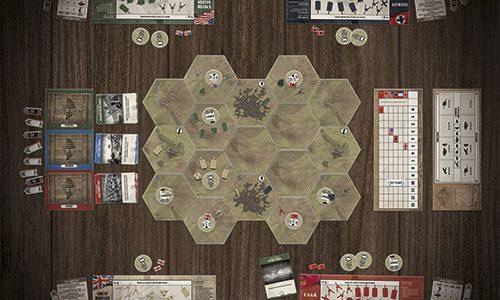 Comienza la producción de Frontier Wars