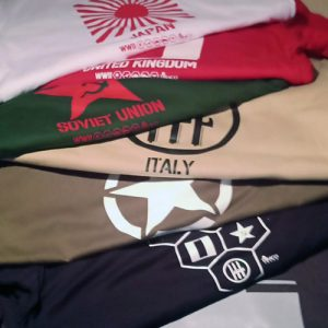 Camisetas Wargames