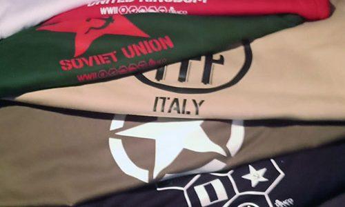 Las camisetas 'wargameras' ya han llegado