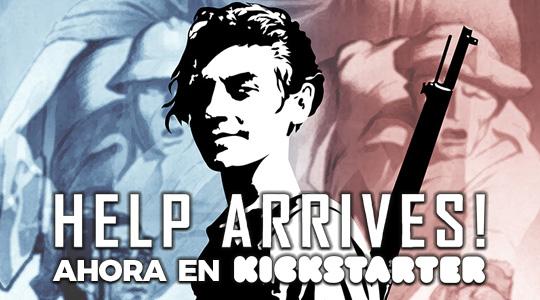 'Help Arrives!' en Kickstarter