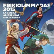 Draco Ideas en las Frikiolimpiadas 2015 en Alcobendas