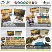 Video de 'Unboxing' de ONUS! 2ª edición y expansiones