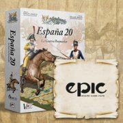 """Partidas de """"España 20"""" en EPIC CAFE – 27/05 – 16:30 HS"""