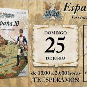 España 20 en el club Dragón de Madrid