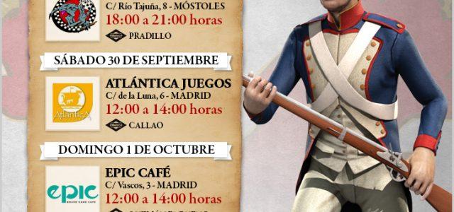 España 20: envío a mecenas y agradecimiento