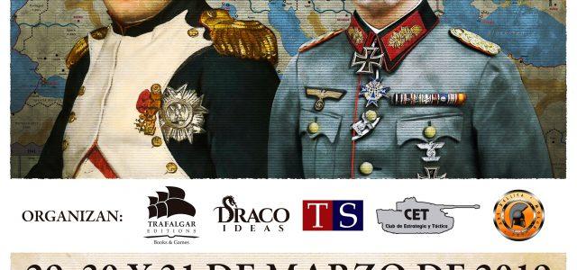 """""""IV Jornadas de Wargames de Madrid"""" los días 29, 30 y 31 de marzo en Alcorcón"""