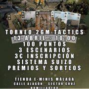 Nuevo Torneo de 2GM TWG en MÁLAGA