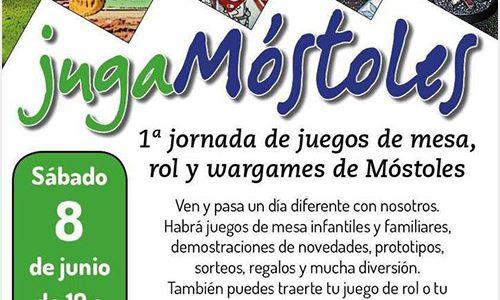 """Draco Ideas en las 1º Jornadas de juegos de mesa """"JugaMóstoles"""" el sábado 8 de junio"""