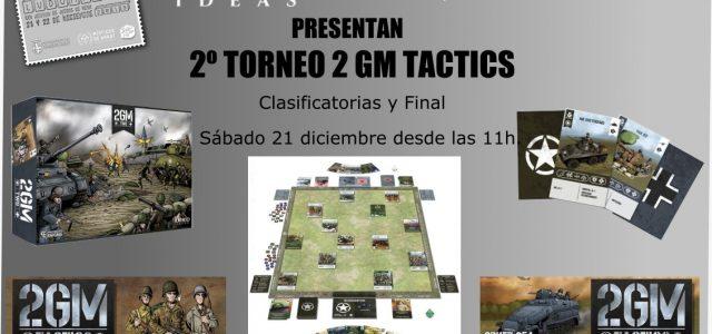 Torneo de 2GM Tactics en Ludomanía 2019