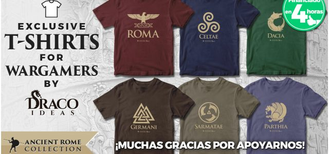 Camisetas Trajano: ¡gracias a todos! Próximo paso… el pledge manager