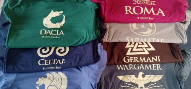 Camisetas Antigua Roma: ¡Comienzan los envíos!