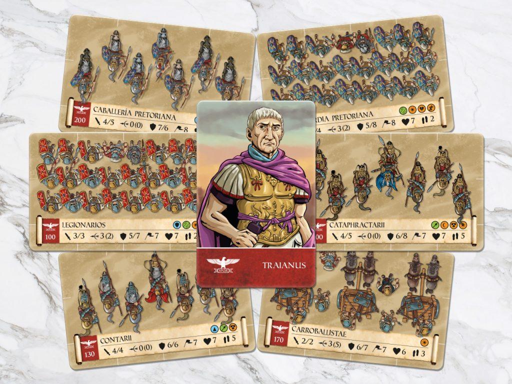 Trajano y el ejército romano