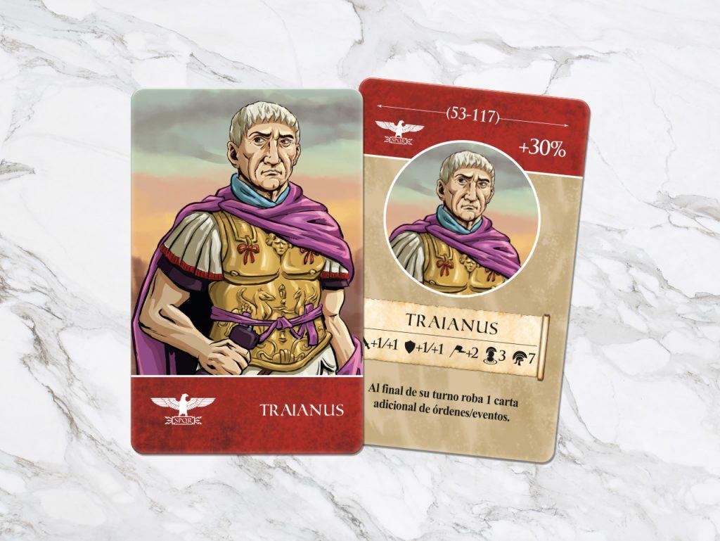 General y emperador Trajano