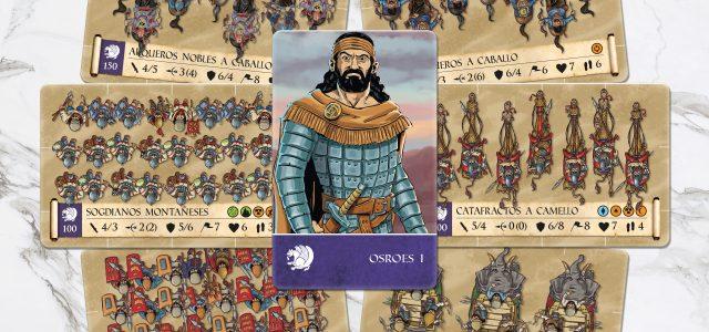 Partia en el juego Traianus