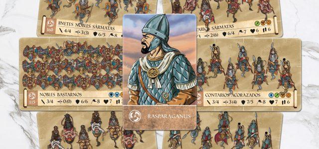 Sármatas en el juego Traianus