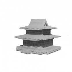 Miniatura Templo Metal de...