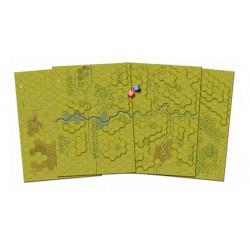 Set de 5 Tableros de Mapas...